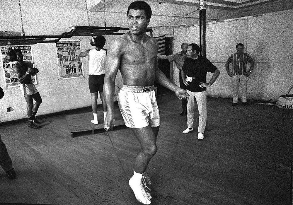 12 huge unknown fitness benefits of skipping. Ali skips in his boxing gym