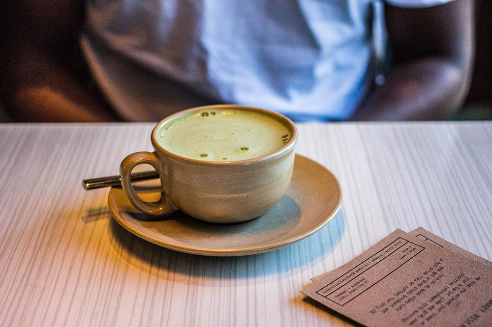 why drink matcha green tea