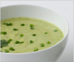 Reset food recipe Avocado Cucumber Soup