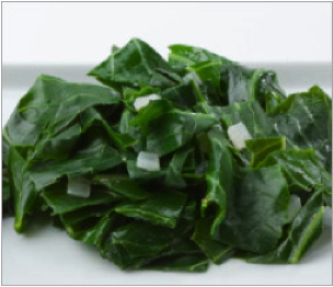 Reset food recipe Coconut Collard greens