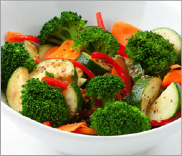 Reset food recipe garlic veggies
