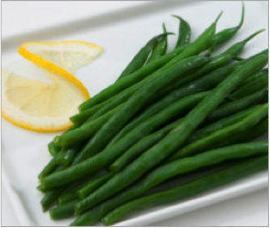 Reset food recipe Green Beans with Lemon