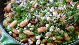 The most reliable veggie protein is? A lot of beans sit in a bowl piled up.