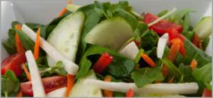 Reset food recipe Micro green Salad