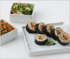 Reset food recipe Nori Roll with Tempeh and Veggies