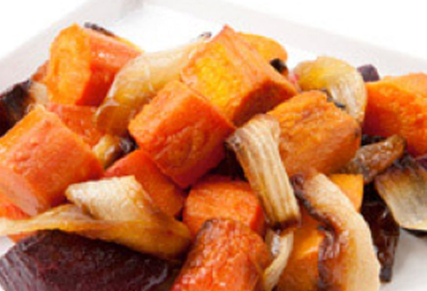Reset food recipe Roasted Root Medley