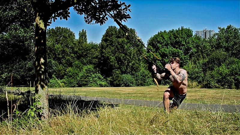 TRX leg workout and exercise routine