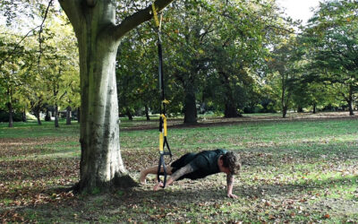 TRX chest workout for building strength