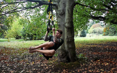 TRX core exercise and workout for home or travel