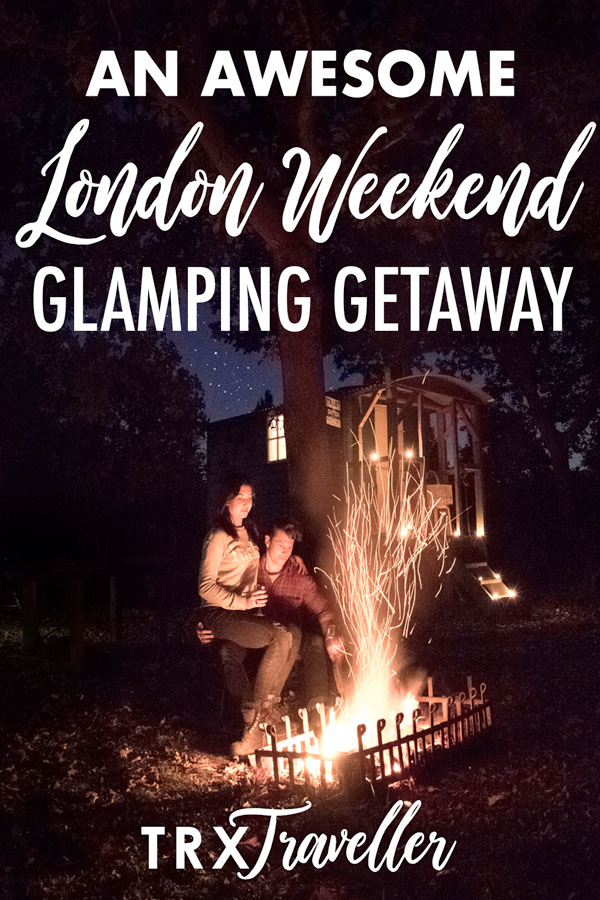 This London weekend glamping get-away is peace