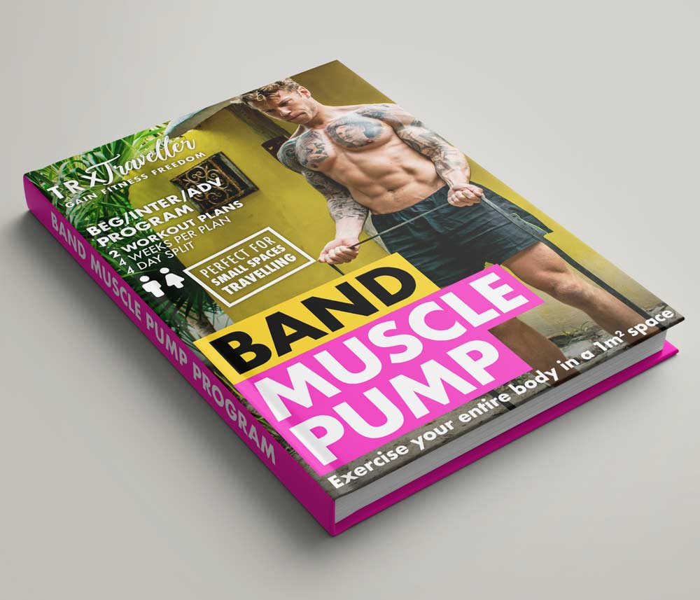 RESISTANCE BAND MUSCLE PUMP WORKOUT PLAN AND EXERCISES