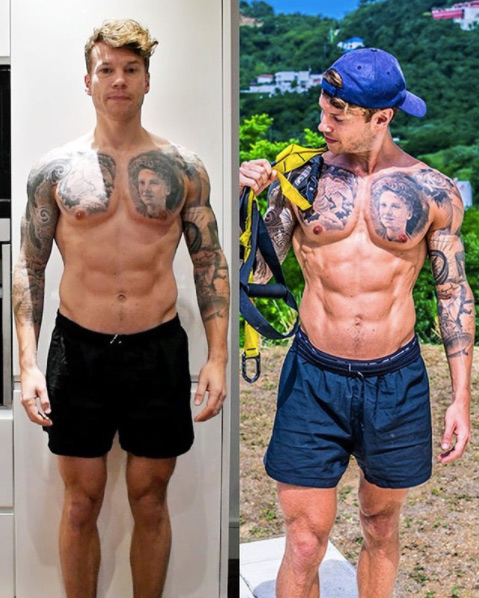 TRX Transformation 10 years gym go'er to 4+ years TRX'er here's what's changed