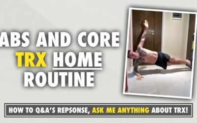 TRX routine to target abs & core