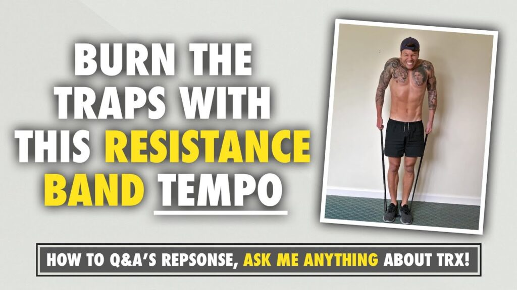 A Resistance Band tempo to seriously BURN the traps⁣