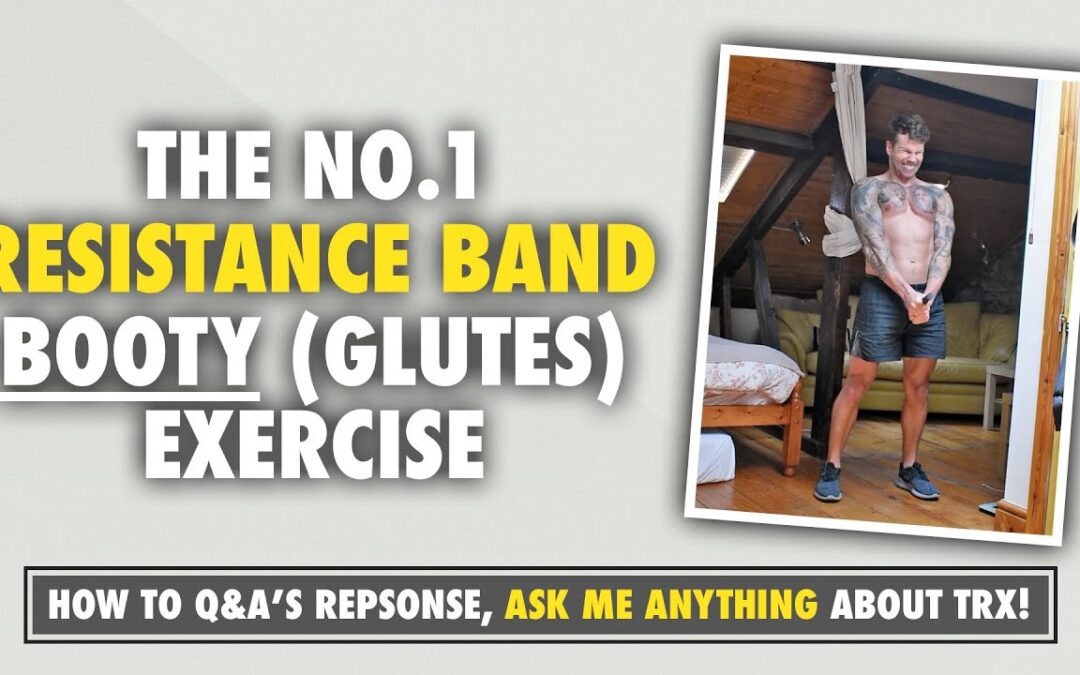 The No.1 BOOTY gains Resistance Band exercise for girls AND boys