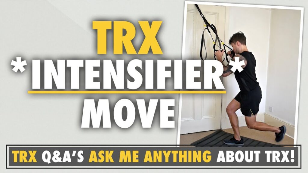 A TRX INTENSIFIER and how to apply it