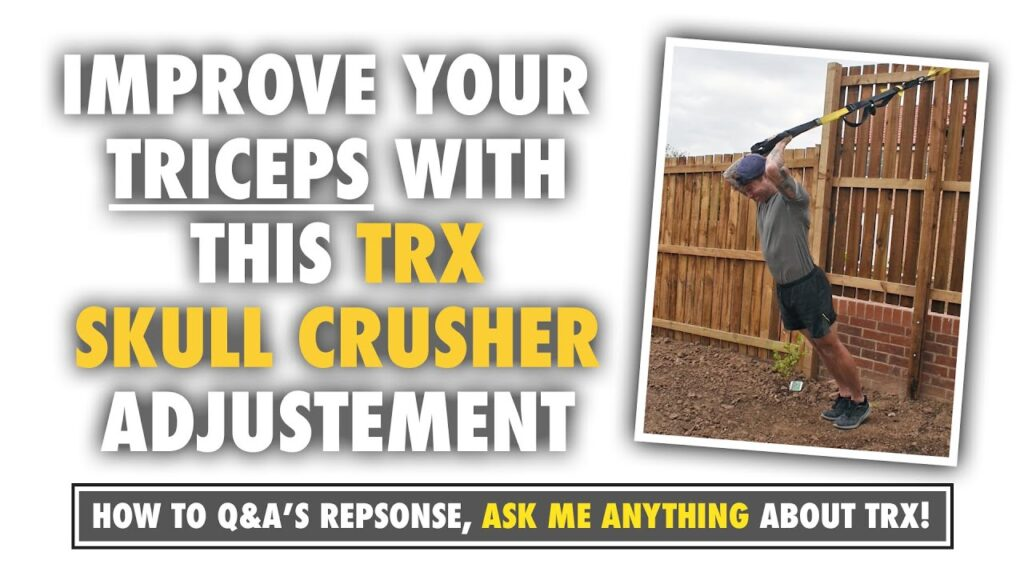 Get 10X more from TRX Tricep training with this little adjustment