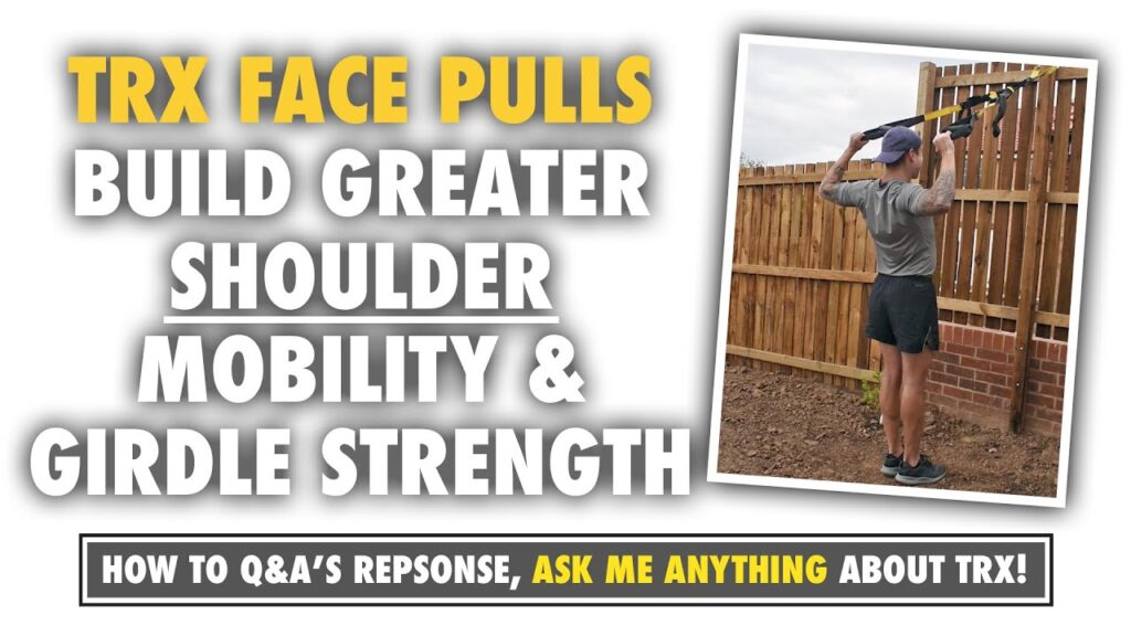 1 TRX Shoulder Exercise to build greater mobility and girdle strength