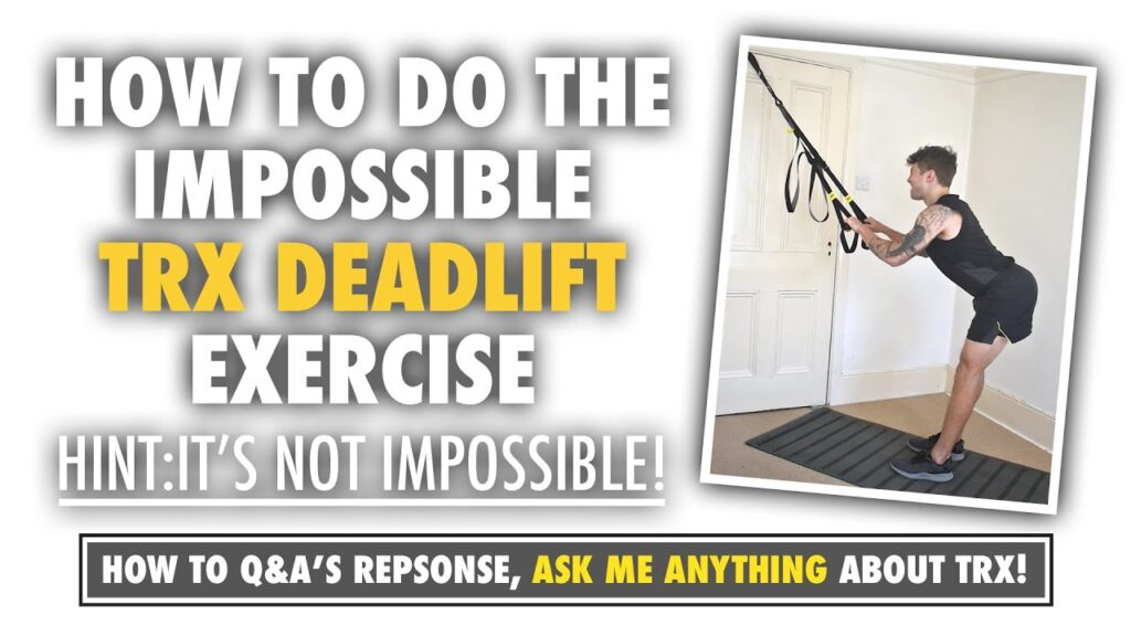 The IMPOSSIBLE TRX Deadlift that's not so impossible