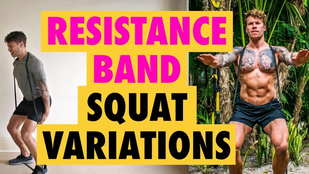 How to do Resistance Band Squats