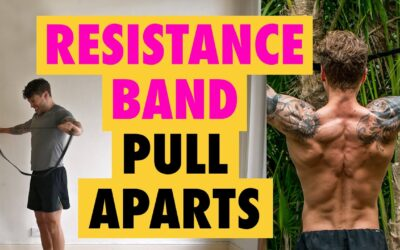 How to do a Resistance Band shoulder exercise Pull-Aparts for width