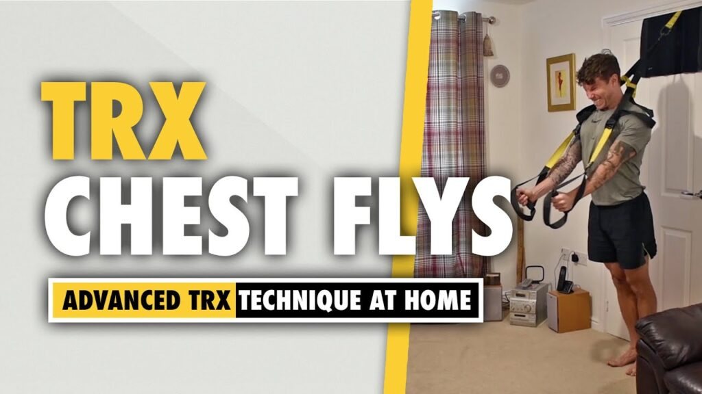 How to do a TRX chest Flys exercise with correct technique
