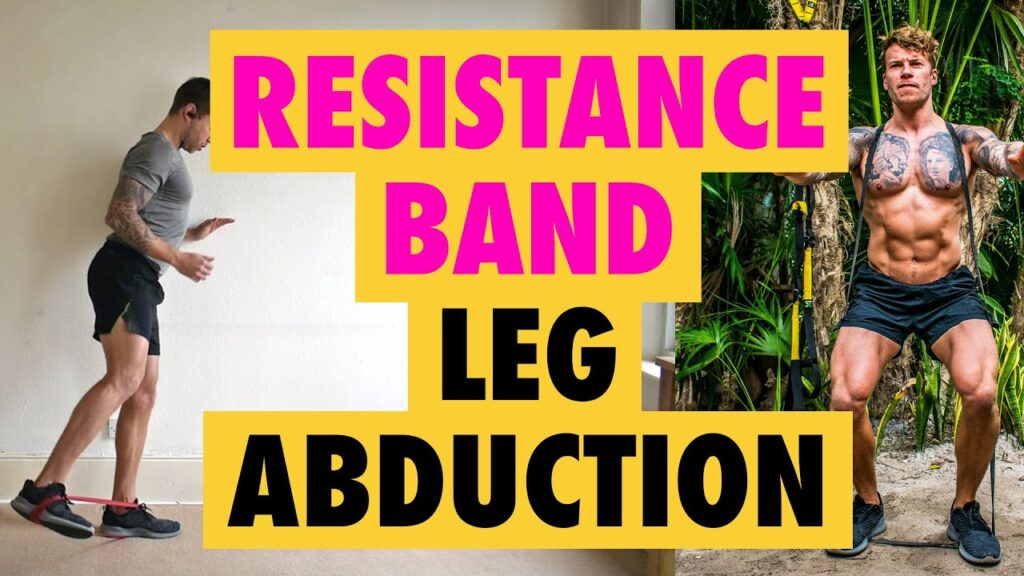 How to do Leg Abductions exercise with a Resistance Band and without