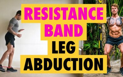 How to do Leg Abductions exercise with a Resistance Band and without.