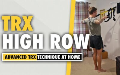 How to do a TRX High Row exercise for upper back width