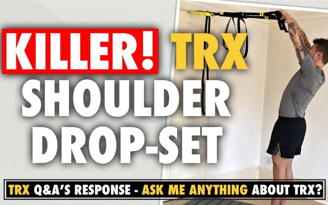 KILLER TRX Shoulder drop set for Boulder Shoulders