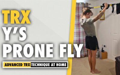 TRX Y's exercise for building shoulder width