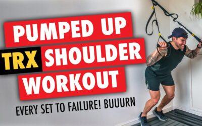 FULL PUMPING TRX Shoulder Workout