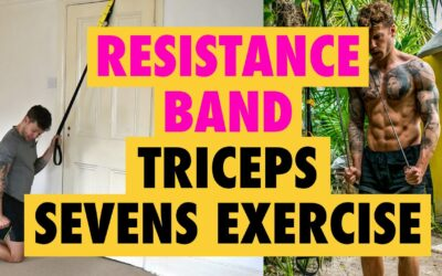 *INTENSIVE* Resistance Band Tricep Pull Down Exercise – SEVENS