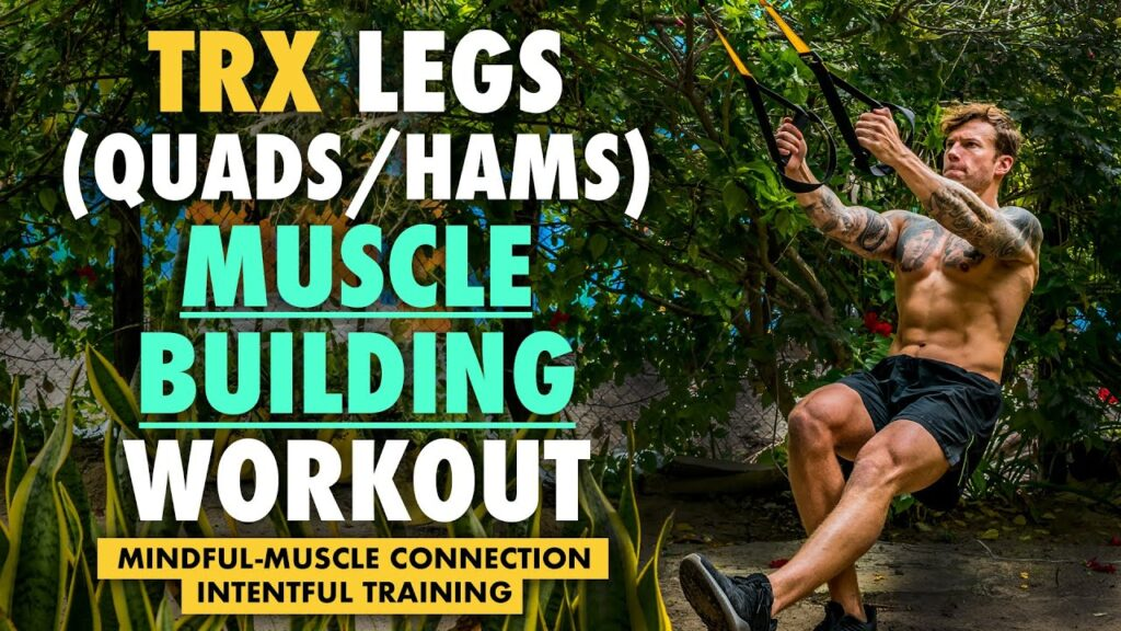 Full TRX leg day workout with guidance and technique explanation