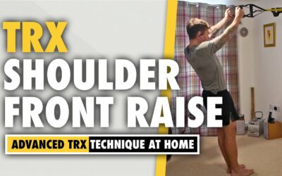 How to do a TRX shoulder exercise Front Raises for 4D deltoids