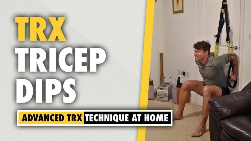 How to do TRX Tricep Dips for arm sculpting