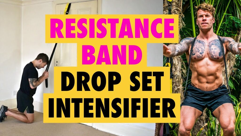 How to do a Resistance Band Drop Set **Intensifier** for any exercise