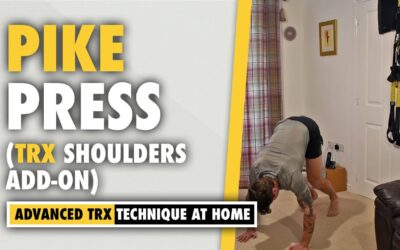 Pike Press Isometric Hold Exercise – Shoulder  *TRX INTENSIFIER*