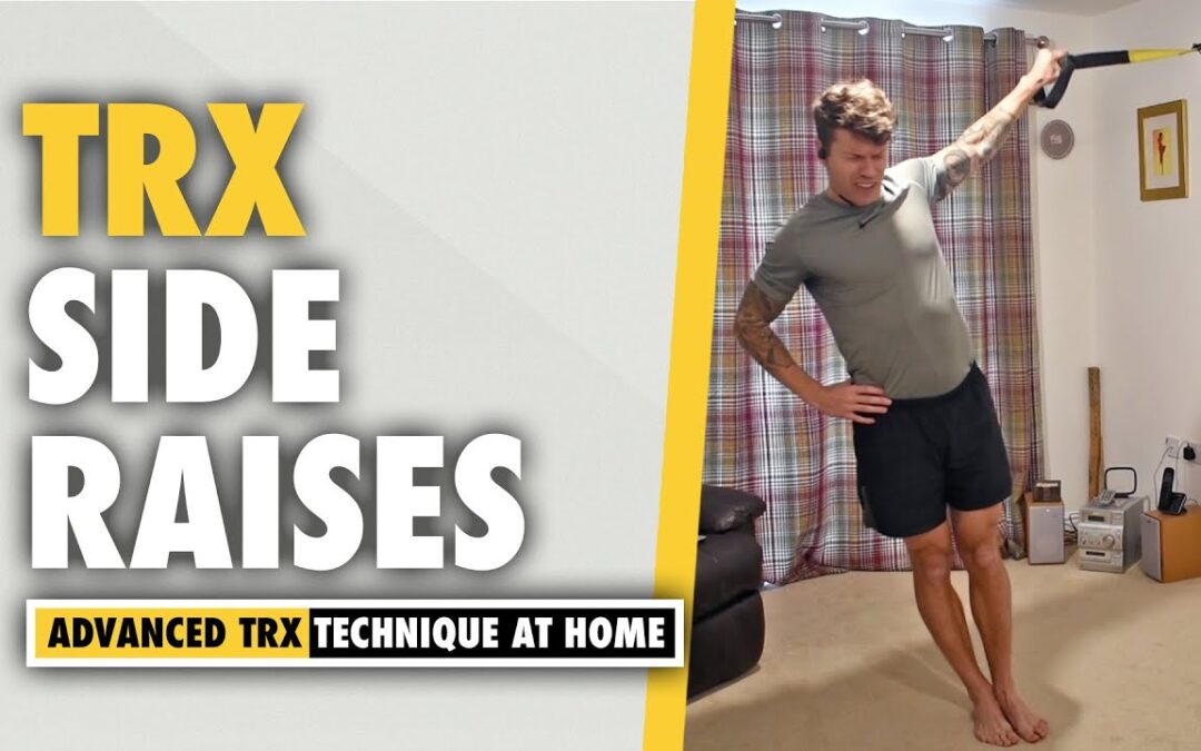TRX Side Raises Shoulder Exercise
