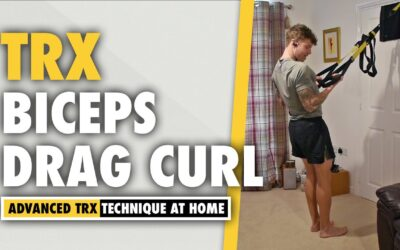 TRX Drag Curl Arms Exercise to Target The Biceps