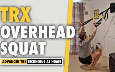 TRX Overhead Squat Leg Exercise for Quad Growth
