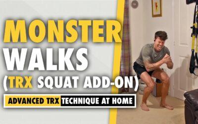 Monster Walks TRX Squat *intensifier* add on for BUUURN