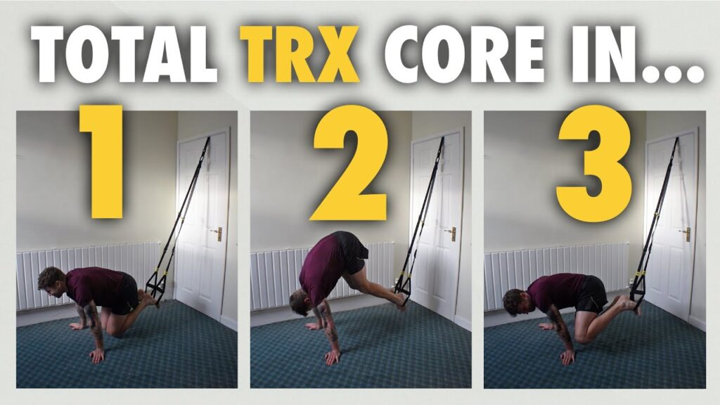 Daily 5 min 3 TRX Exercise Workout Flow for Abs