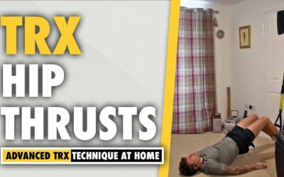 TRX Hip Thrust Glutes Exercise for Booty GAINS