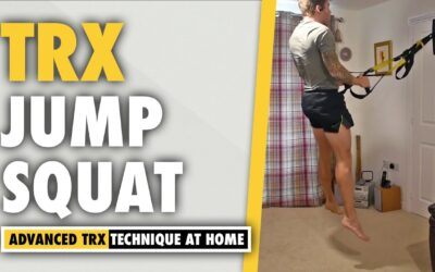 TRX Jump Squat exercise for POWER