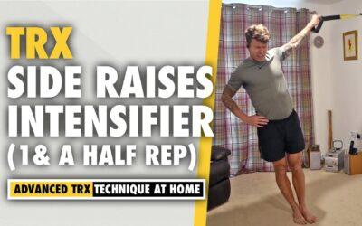 TRX Side Raises *INTENSIVE* 1&1/2 reps Shoulder Exercise