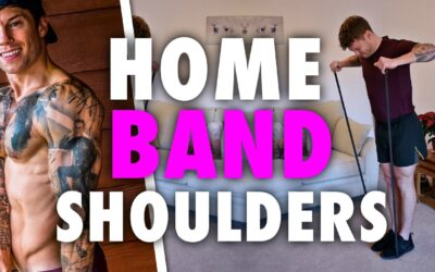 One Band Exercise to Develop a Wider Shoulder Physique
