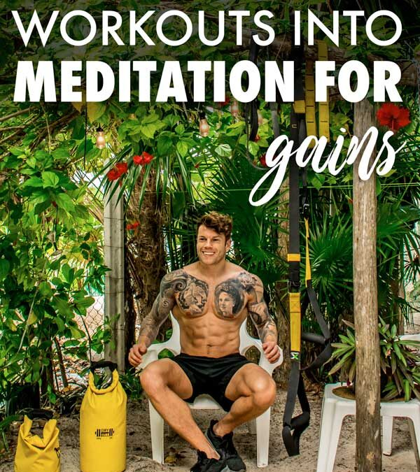 Turning TRX workouts into meditation for better gainz