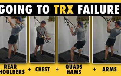 TRX Workout Walkthrough for Shoulders, Chest, Hamstrings, Quads & Biceps