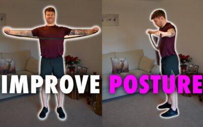 A Simple Resistance Band SUPER-SET to Improve Posture